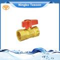 Robinet à bille en laiton pression nominale 125 lb/po2 1/2 ''
