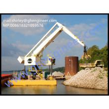 500t / h Grue hydraulique hydraulique à charpie en vrac 35T 40T