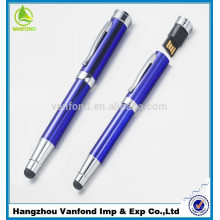 Directo de fábrica Metal promoción Pen Drive 8GB, Touch Stylus USB Flash Drive