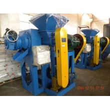 Crumb Rubber Grinder For Waste Tire Recycling Line With Water Cooling Pipes