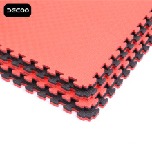Five Stripes Black-Red Color Taekwondo Mat