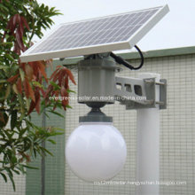 Apple Shape High Light 5W LED Solar Garden Light