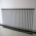 8 pies de alto vallas ornamentales de metal valla de empalizada