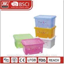 Пластмассовые для хранения контейнера W/колеса 27 Л/40 Л