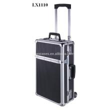 Valise trolley de luxe aluminium portable vend en gros de l'usine de la Chine