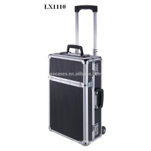 Luxury portable aluminum trolley case wholesales from China factory