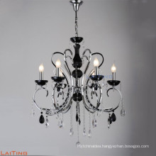 Zinc alloy indian modern crystal hanging chandelier for sale LT-85504