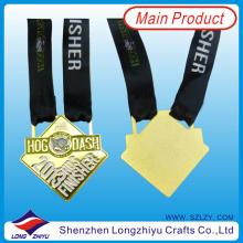 Einzigartige Sportmedaille Gold Silber Bronzemedaille