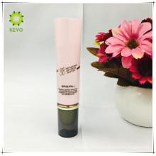 tubo cosmético vacío rosado de la crema cosmética del cuidado de piel del embalaje del color de lujo
