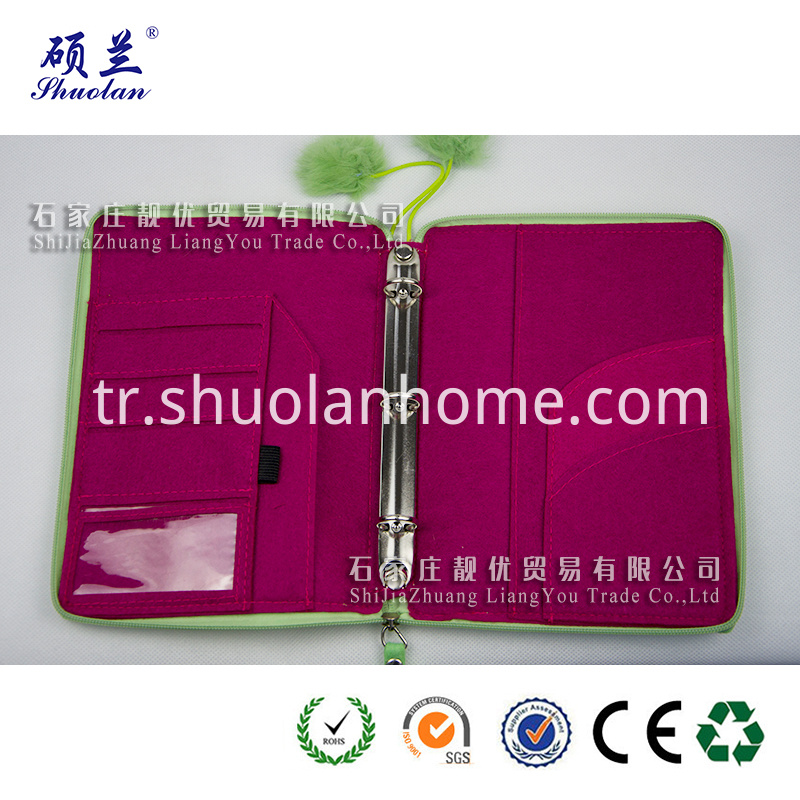 Hot Sale Green Notebook Cover