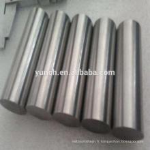 Pureté 99.5% divers taille zirconium barre métallique prix par kg