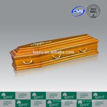 Итальянский стиль деревянные & металлические гробы цены, предоставляемые производство Китай