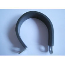 Truck / Car Industrial Rubber Hose Clamps Insulated With Black Rubber