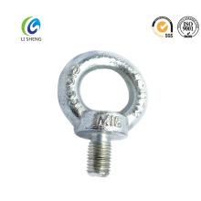 Perno de ojo galvanizado eléctrico de acero al carbono Din580