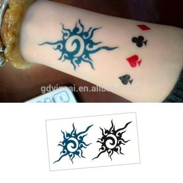 Wholesale single color tattoo,custom Temporary Tattoo Sticker