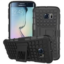 Galaxy S6 Edge Case, for Samsung Galaxy S6 Edge Combo Case with Stand