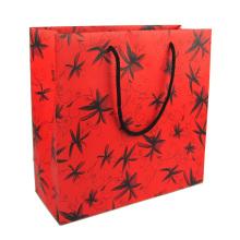 Logotipo personalizado impresso saco de papel de presente de compras