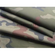 100% tecido de saco de dormir de camuflagem de nylon