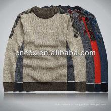 12STC0622 camisolas pesadas elegantes para homens