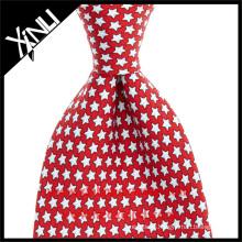 100% Handmade Perfect Knot Print Tie Silk Twill