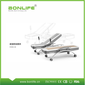 wooden whole body spine massage bed