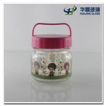 Cute Printing 180ml Glass Baby Food Jars Wholesale