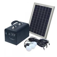 Solar Power Lighting System Kit