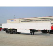 Special for Dry Bulk Cargo Trailer 40' 3-AXLE SIDE BOARD SEMI-TRAILER supply to Congo Suppliers