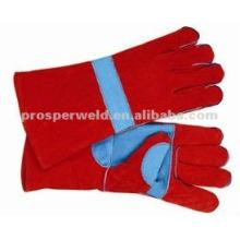 "14"" Split Cowhide Heavy Work Protection Welding Gloves"
