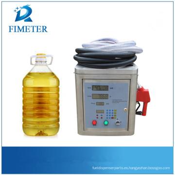 Máquina de llenado de aceite de ensalada que está a punto de agotarse Máquina de archivo de la marca Fimeter