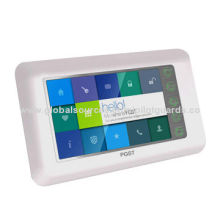 Android Cyber and GSM Video/Home Burglar Alarm System, Built-in TCP/IP, 110dB Siren Volume