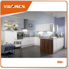Design de cuisine moderne armoires de cuisine en PVC de haute qualité
