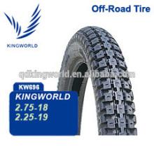 2.25-19 fora do pneu de moto de estrada