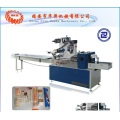 Plastic cutlery packaging machine