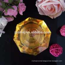 Beautiful k9 crystal perfume bottle for home and car decoration