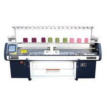 Máquina de confecção de malhas dobro do sistema de 100 polegadas
