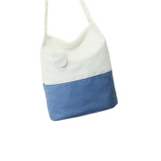 Fashion high quality advanced canvas rope handle beach bag wholesale
