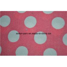 Tela blanca del sofá del bolso de haba de la lona del algodón de la butaca del bolso de haba de los puntos