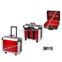 Nueva llegada - fabricante por mayor de aluminio fuerte y portátil del fashional carretilla equipaje