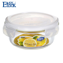 easylock factory wholesale glass jar with plastic lid