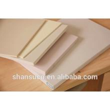 Panneau de mousse de PVC de meubles de cuisine de densité élevée de 7mm WPC
