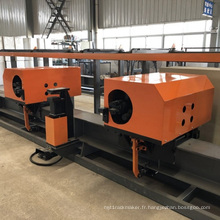 Centre de cintrage de barres d'acier verticales CNC