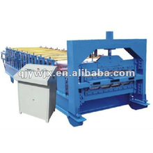 QJ trapezoidal profile 840/900 double layer roof tile rolling machine
