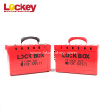 Safety Steel Lockout Tagout Box for Master Padlock