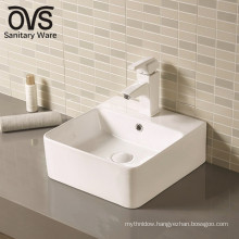 wholesale good quality new counter top mounted washroom basin
