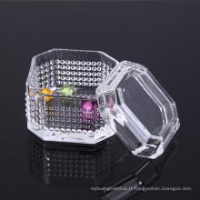 Boîte à bijoux en cristal de conception unique