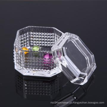 Caixa de joalheria de cristal de design exclusivo