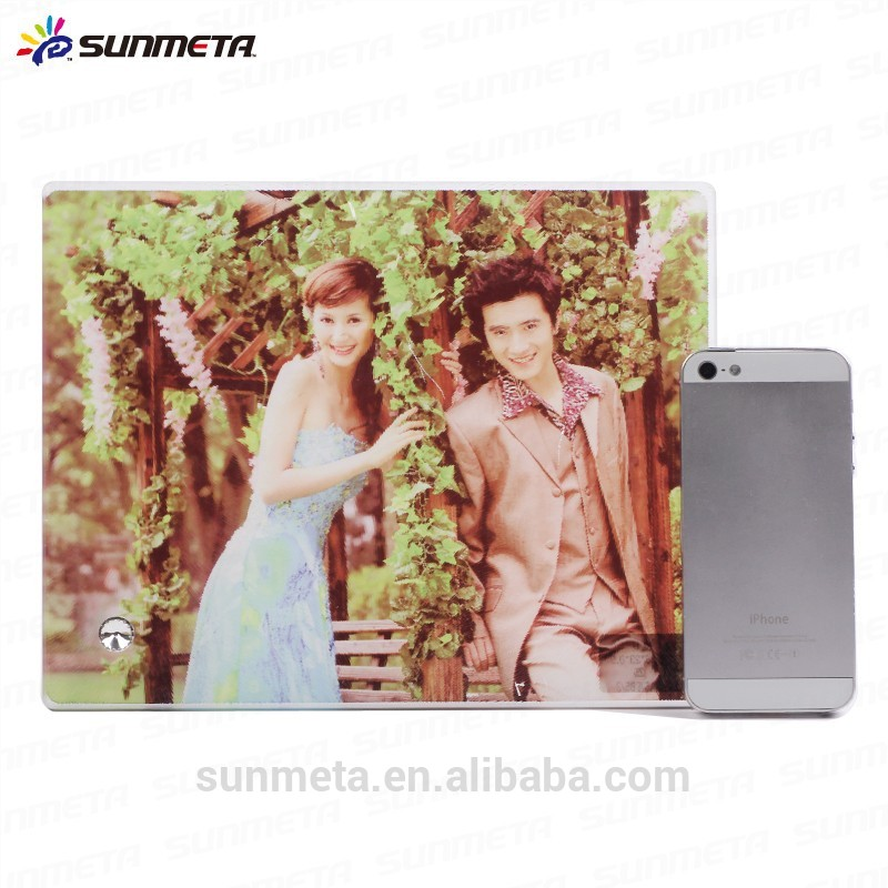 FREESUB Sublimation Heat Press Photographs On Glass