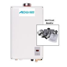 Calentador de agua a gas con mini bomba de calor dividida