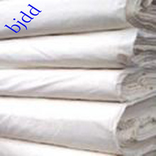 Polyester and cotton bleached fabric